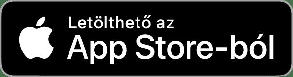 App Store letöltés gomb
